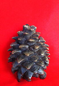 034-Cast-Bronze-Pine-Cone-034-Unique-Sculpture-Digger-Pine-Tree-Modern-Art-Foundry