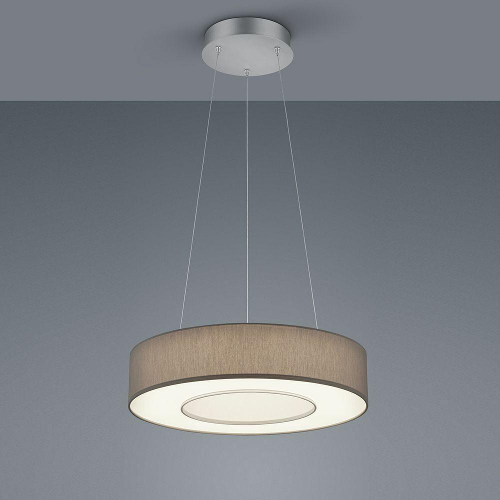 Pendelleuchte braun LED Schlicht Zeitlos Warmweiß Smart Home