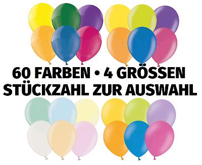 10-100 St. Luftballons Ø 12 Cm • 60 Farben • Hochzeit Party Geburtstag Deko Club Exzellente QualitäT