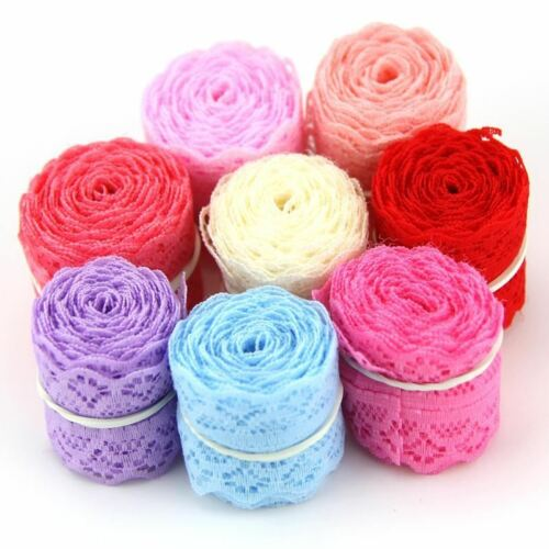 10Yard//Lot 9m Width 30MM New Selling Lace Ribbon DIY Embroidered Net Lace Trim