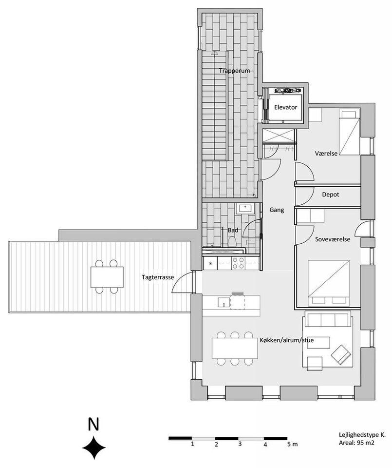 9000 3 lejlighed, 95, Kildevældet
