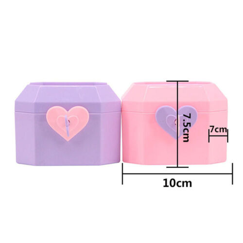 Plastic Jewelry Box Container 18inch Girl Doll Furniture with Handle Pink