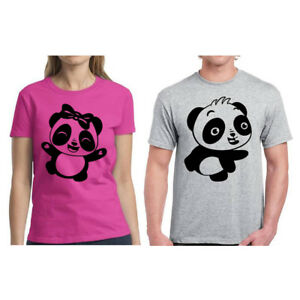 3f32112c06 Image is loading Couple-Matching-Shirts-Panda-T-Shirts-for-Couples-