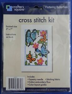 Crafters-Square-Counted-Cross-Stitch-Fluttering-Butterflies-Kit-847671