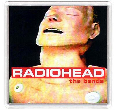 RADIOHEAD THE BENDS LP COVER FRIDGE MAGNET IMAN NEVERA