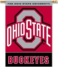 Ohio State Buckeyes 96455 Deluxe 2-sided 28x40 Banner Outdoor Flag University of