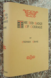 The-Red-Badge-of-Courage-by-Stephen-Crane-First-Edition-1898-w-Facsimile-DJ