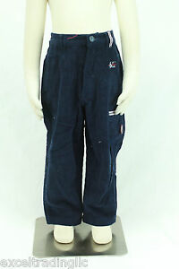 JACADI Boy/'s Resoudre Sky Blue Elastic Waist Trousers Size 12 Months $40 NWT
