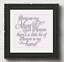 Because My Mum Is In Heaven Vinyl Decal Sticker For Box Frame Block V85