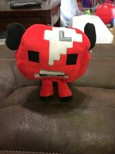 Minecraft Animal Plush Toy Stuffed Soft Red Cow
