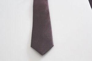 NEU-Herren-Luxus-Krawatte-Binder-Schlips-Seide-150cm-rot-schwarz-weiss-Punkte-OVP