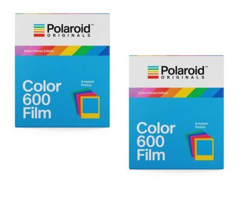 2x Polaroid inmediatamente imagen película color 600 película coloridos marco 600 680 impulsos I-Type