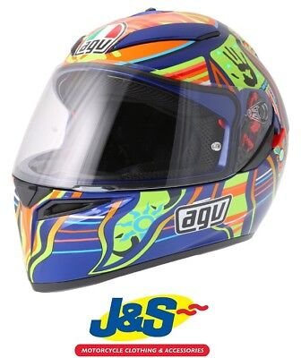 Small AGV K3 SV 5-Continents Full-Face Motorcycle Helmet S Multi