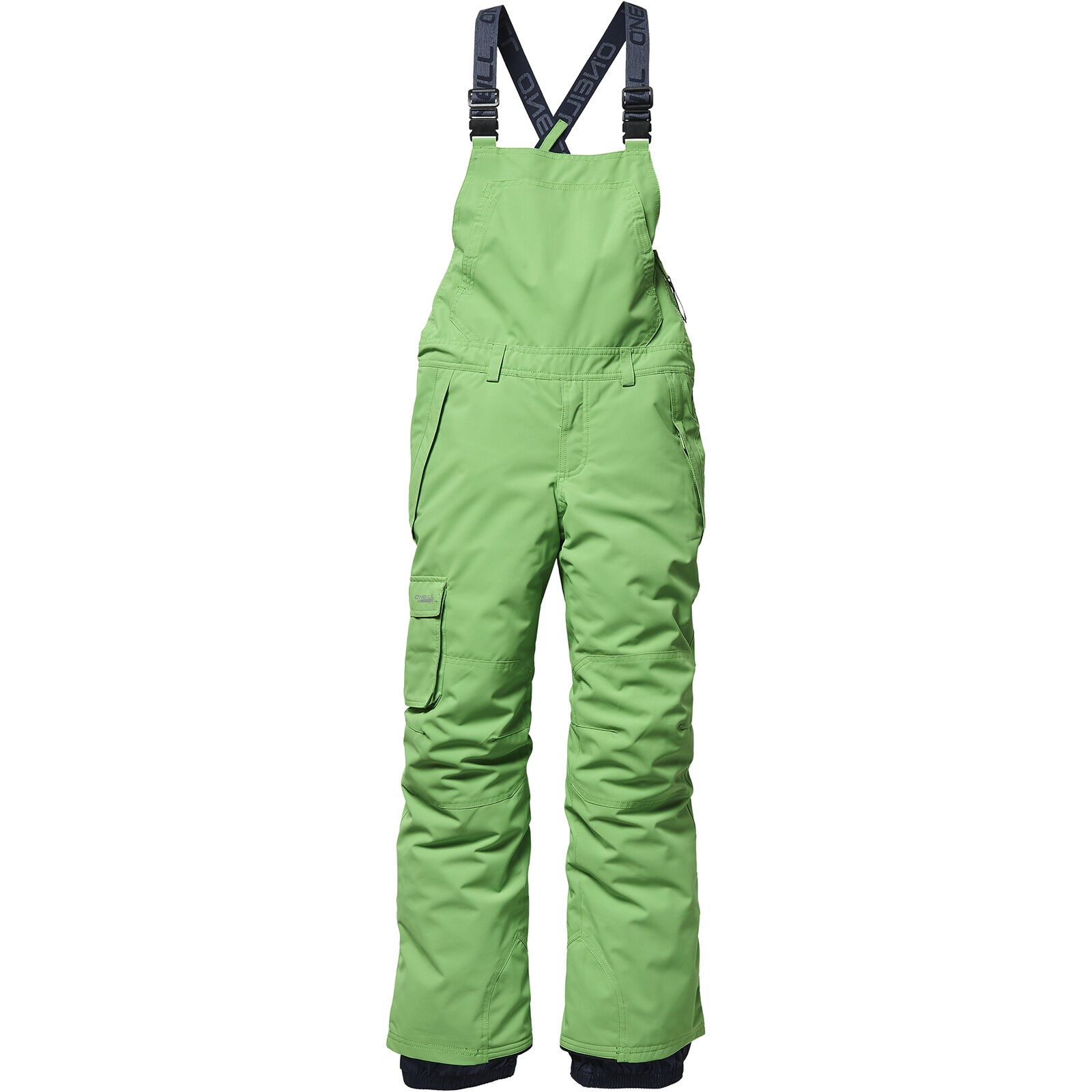 O'Neill Skihose Snowboardhose PB BIB PANTS grün wasserdicht Unifarben