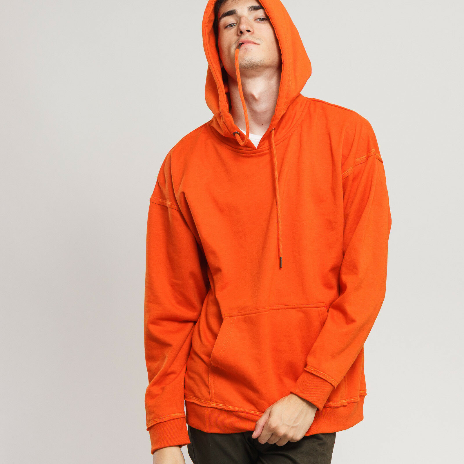 Urban Classics OverGrößed Sweat Hoody Orange XXL, Orange, TB1593