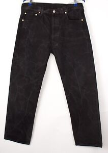 Levi's Strauss & Co Hommes 501 Jeans Jambe Droite Taille W36 L30 BBZ389