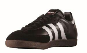 Adidas-Samba-Chaussures-de-foot-Salles-Chaussures-Hommes-Chaussures-De-Sport-Noir-Blanc
