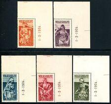 SAAR 1934 200-204BR ** POSTFRISCH TADELLOS 420€(S0743