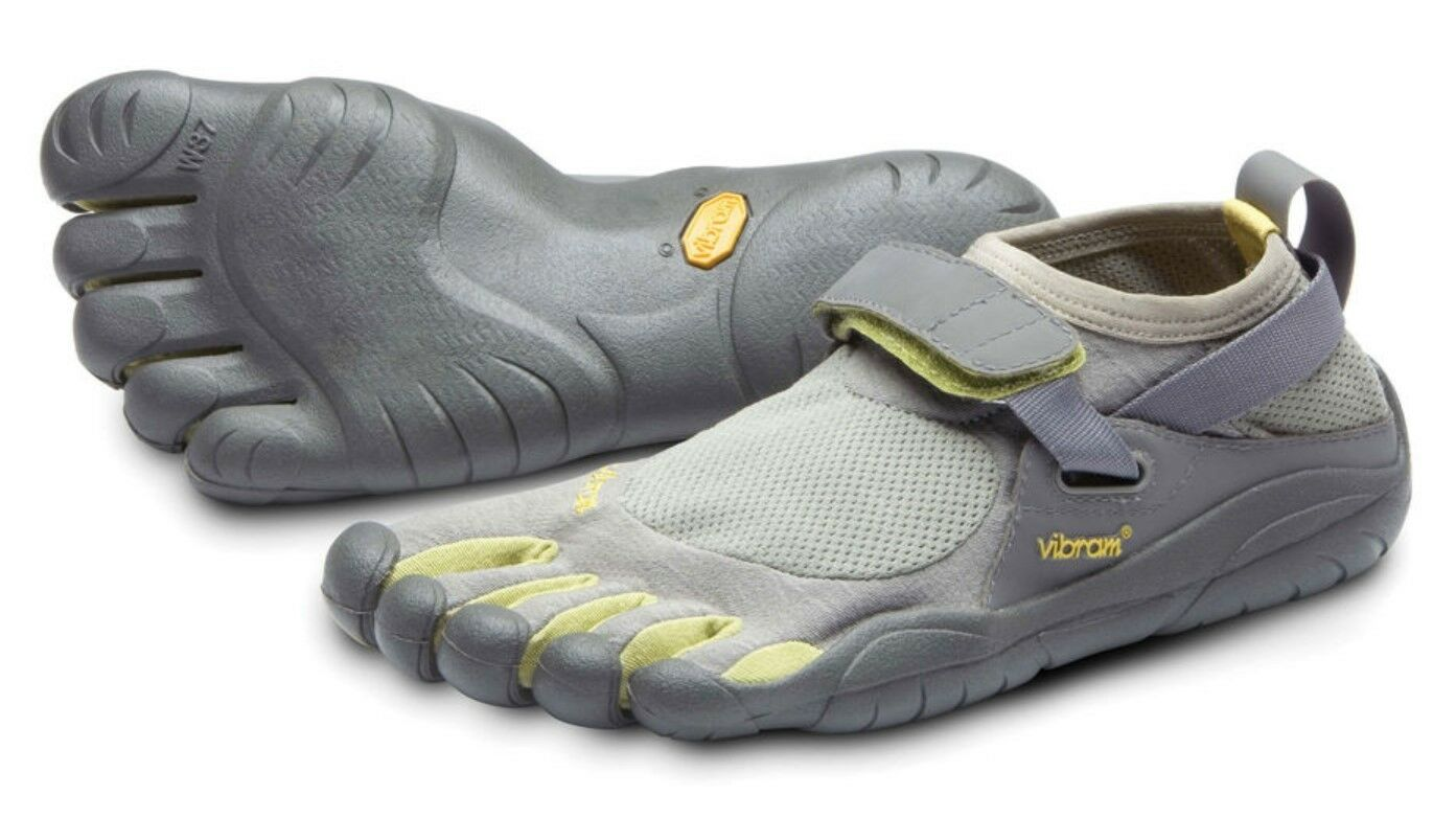 Vibram M145 Men's KSO Grey Palm Clay In Outdoor Traction Minimal Comfort shoes