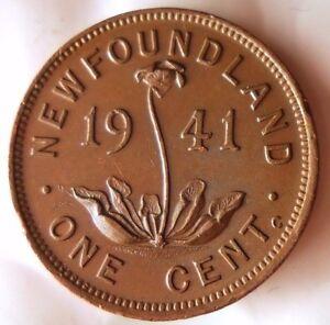 1941-Terranova-Centavo-Au-Gran-Bajo-Acunacion-Moneda-Canada-Bin-Z