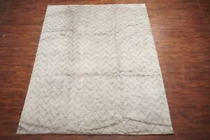 9X12-Modern-Moroccan-Area-Rug-Zigzag-Design-Hand-Knotted-Wool-Carpet-9-1-x-11-9