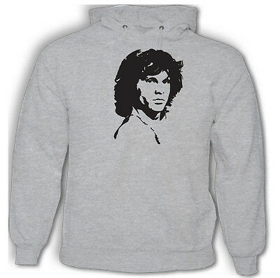 Jim Morrison Hoodie The Doors Mens Music
