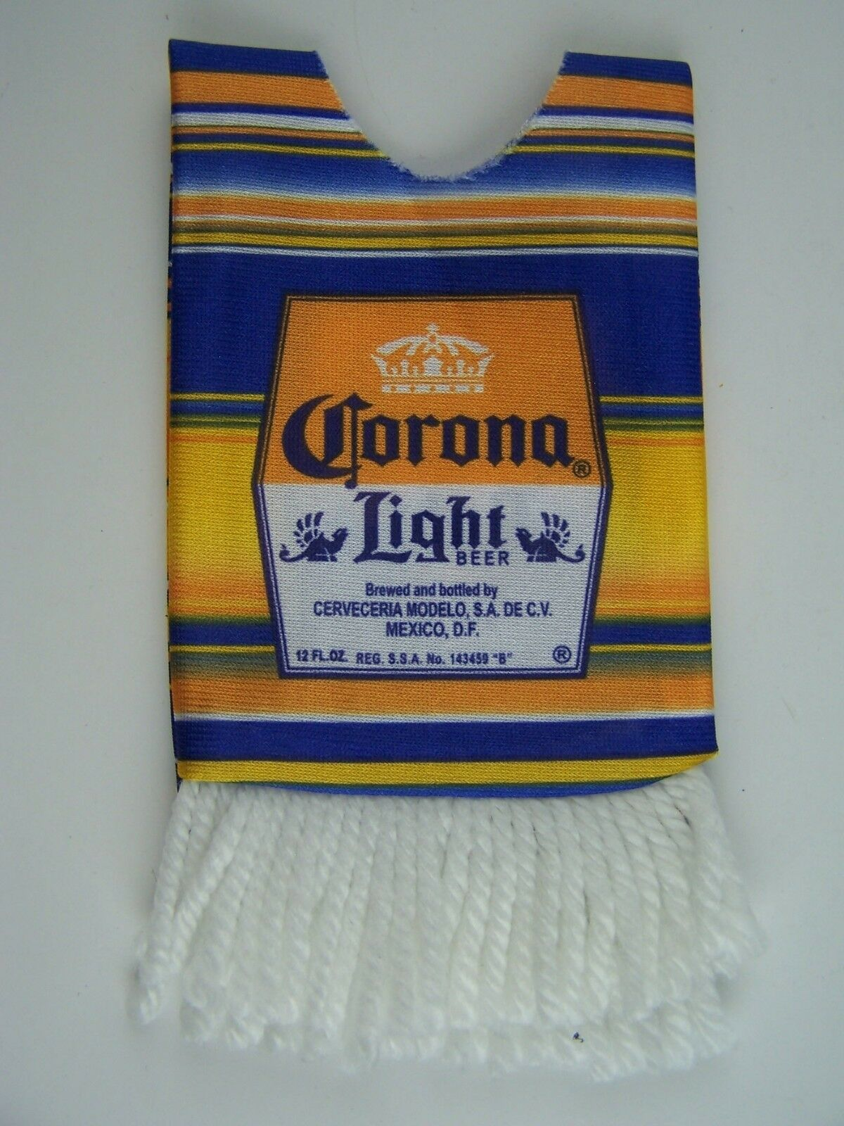 Corona Light Beer Cinco De Mayo Fiesta Party Striped Se