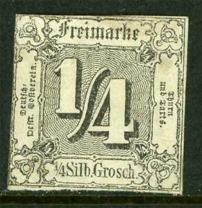 Germany-1863-Thurn-amp-Taxis-North-sgr-Black-SG-20-Mint-J864