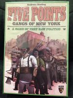 Five Points - Gangs Of York Board Game new Includes Limited Ed. Promo Exp. Toys