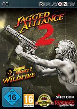 Jagged Alliance 2 + Wildfire [PC Retail] - Multilingual [DE/EN/FR/PL]