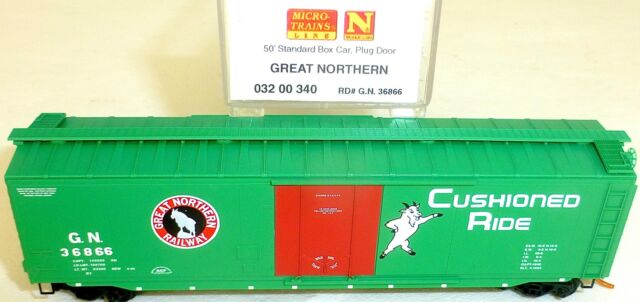 Great Northern 50 Estándar Box Car Micro Trains 032 00 340 N 1:160 HS3 å