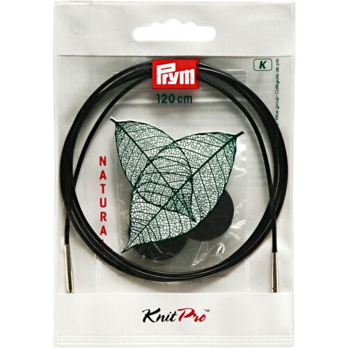 Prym Knitpro Corda /& Accessori Per con Ferri Circolari Naturale Tutti Lunghezze