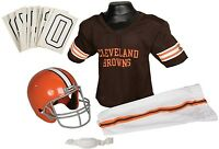 Cleveland Browns Youth Jersey Small Uniform Set Nfl Kids Football Helmet Costume on Sale