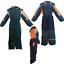 Neige-Costume-Combinaison-de-ski-hiver-costume-Neige-overall-skioverall-enfants-jeunes-filles miniature 13