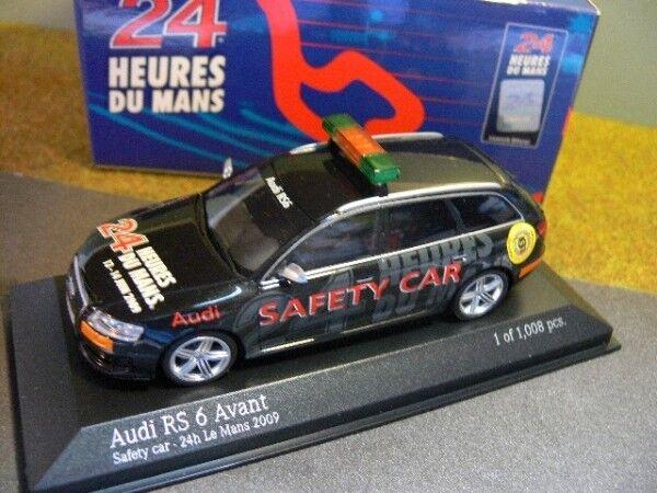 1 43 Minichamps Audi RS 6 avant savety car le mans 2009 400 017290