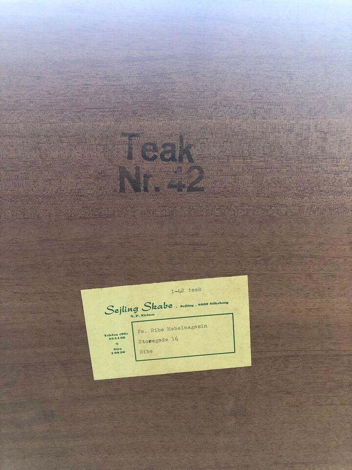 Kommode, teaktræ, b: 87 d: 43 h: 89