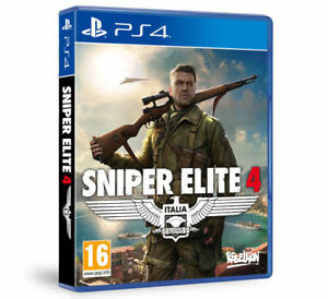 VIDEOGIOCO-SNIPER-ELITE-4-GIOCO-PS4-ITALIANO-PLAY-STATION-4-MULTILNGUE-NUOVO