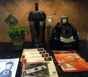 Living Well Montel Health Master Blender Yd 2088e Manual Cd Recipes Tested Works Ebay