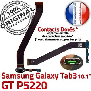 ORIGINAL-Samsung-Galaxy-TAB3-P5220-Connecteur-Charge-MicroUSB-Nappe-Microphone