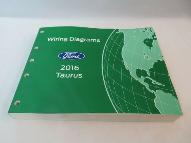 2016 Ford Taurus Wiring Electrical Diagram Manual Oem New Ewd 2016