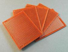 5 X Experimentier Platine Prototype Board 7x5cm Leiterplatte Lochraster 5x7 PCB