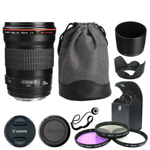 Canon EF 135mm f/2L USM Lens + Deluxe Accessory Kit