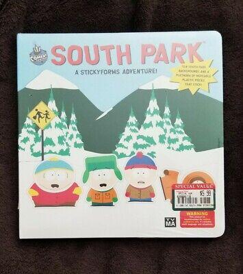 Comedy Central RARE Sealed 1998 SOUTH PARK A Stickyforms Adventure Book NEW