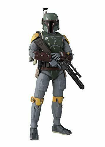 USED S.H.Figuarts Star Wars Boba Fett Figure Episode VI Return of the Jedi