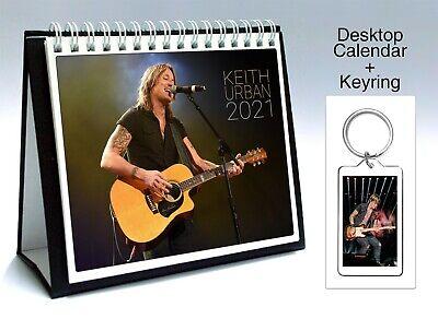 Keyring Keith Urban 2021 Wall Holiday Calendar