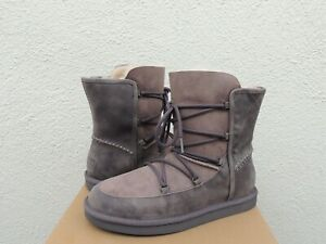 69e0a3bf47b Details about UGG LODGE NIGHTFALL WATER-RESISTANT SHEEPSKIN WINTER BOOTS,  US 11/ EUR 42 ~ NIB