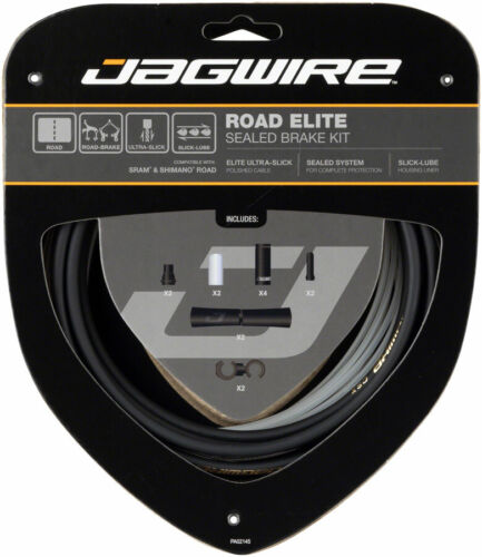 Jagwire Road Elite Sealed Brake Cable Kit SRAM//Shimano with Ultra-Slick Uncoated