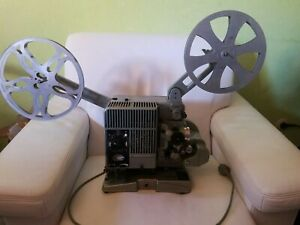 SIEMENS 2000 16mm Filmprojektor im Koffer mit 2 Spule