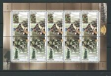 AUSTRALIA 2001 CENTENARY OF AUSTRALIAN ARMY SHEETLET UNMOUNTED MINT, MNH