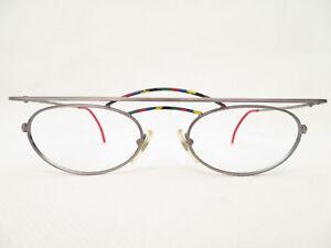 90er-TRUE-Vintage-Brille-CRAZY-ARGENTA-706-53-21-Brillenfassung-DAMEN-NEU-Trend